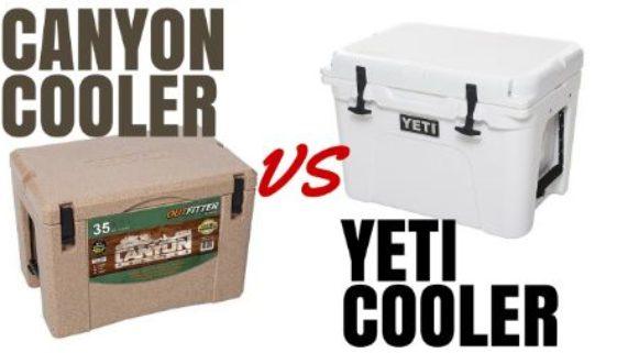 Canyon Cooler vs Yeti Cooler