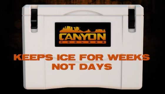 Canyon Cooler Ice Retention