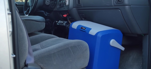 Wagan Front Seat The Cooler Box