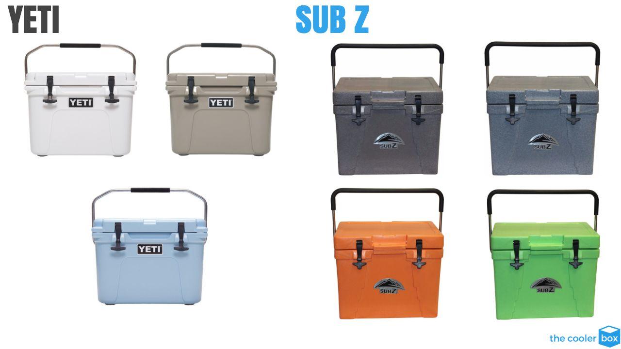 Sub Z vs Yeti Color Options