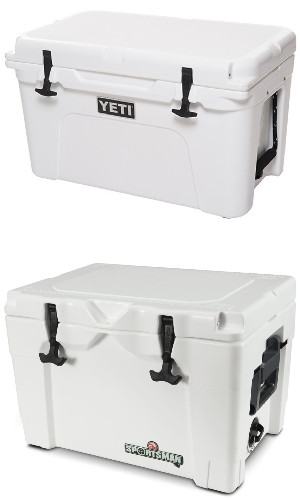igloo-sportsman-vs-yeti-exterior-design