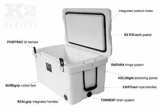 K2 Cooler Features