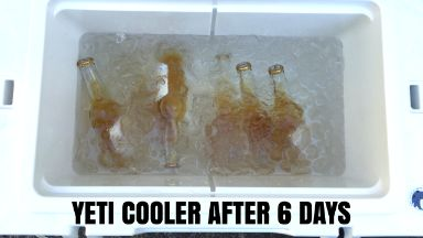 Yeti 6 Days Ice Retention