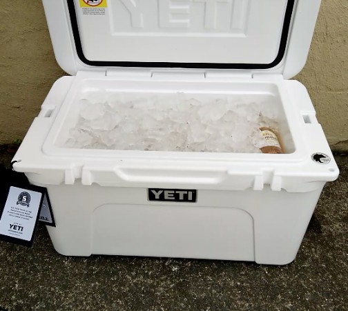 Yeti Cooler Ice Retention Test
