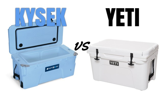 Kysek Coolers vs Yeti