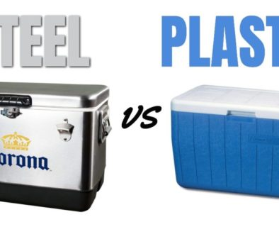 Steel vs Plastic Coolers