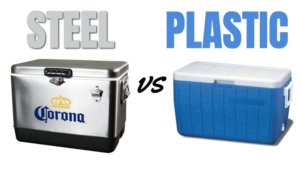 Steel vs Plastic Coolers