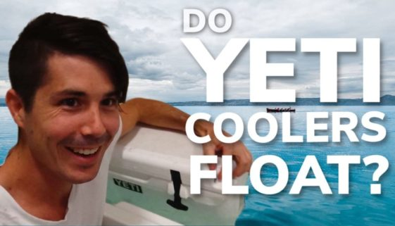 Do Yeti Coolers and Tumblers Float? VIDEO PROOF