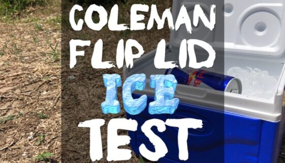 coleman-flip-lid-ice-test
