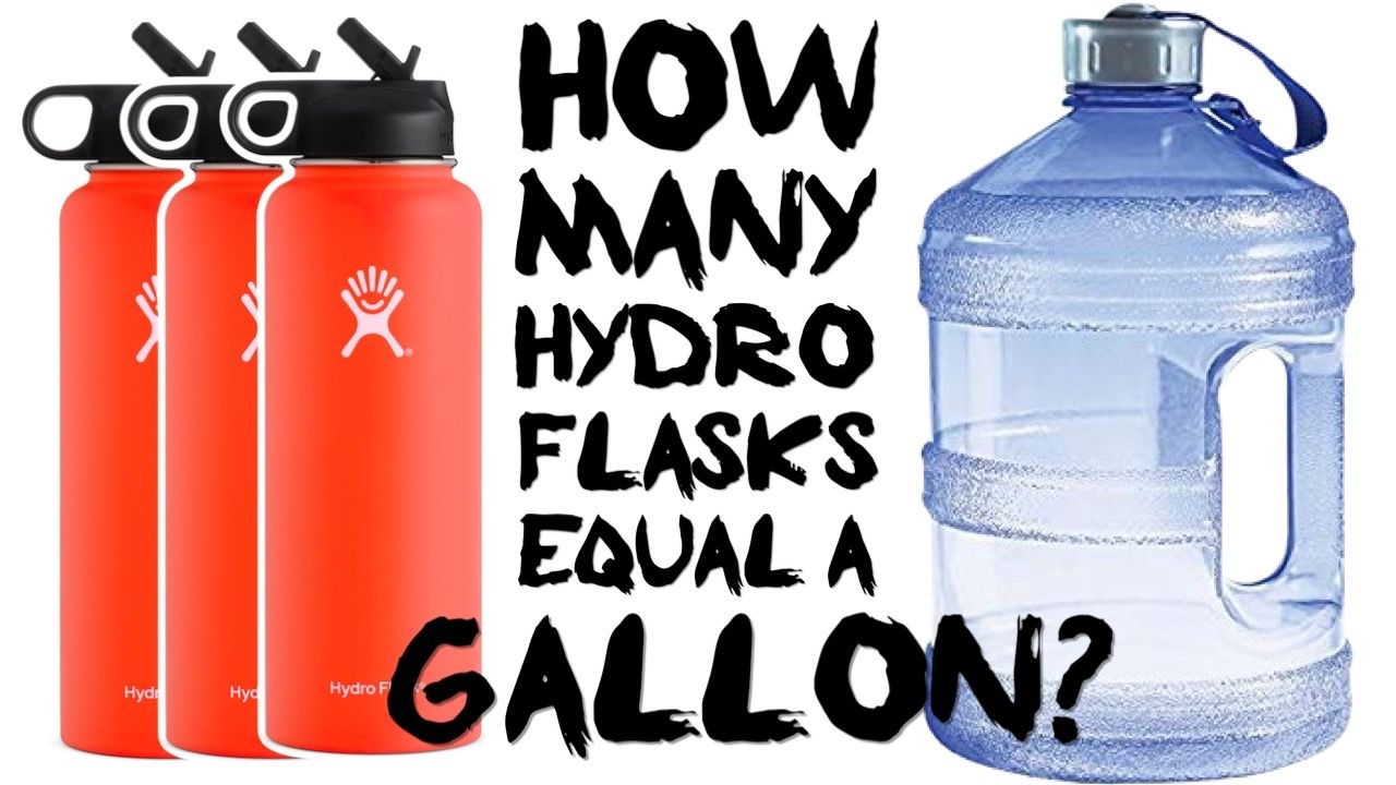 How Many Hydro Flasks Equal A Gallon Or Liter The Cooler Box