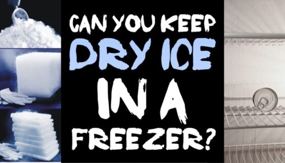 can-you-keep-dry-ice-in-a-freezer