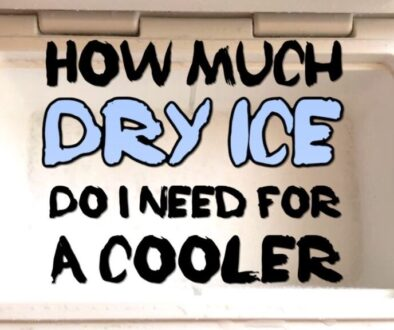 How Much Dry Ice Do I Need For A Cooler?