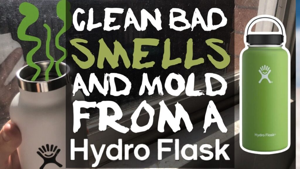 Easy Ways To Clean Bad Smells and Mold From A Hydro Flask