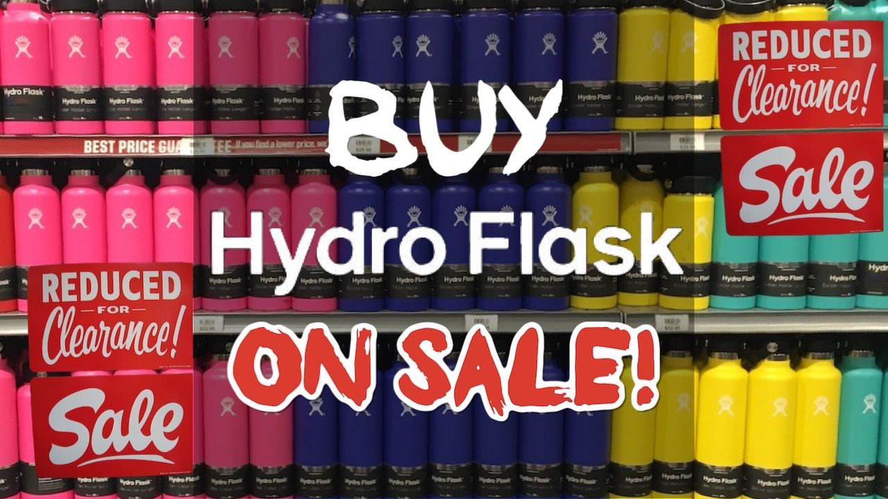 Where to buy Hydro Flasks on sale