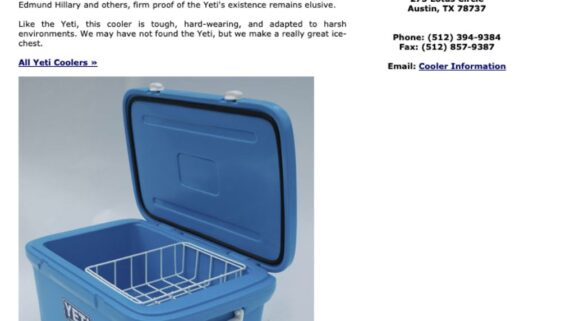 What Did The Original Yeti Coolers Look Like in 2006?