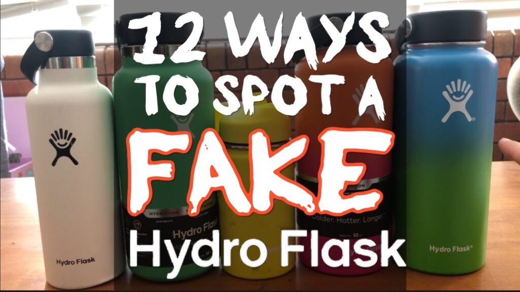 12 Ways To Spot a Fake Hydro Flask - Tell The Difference