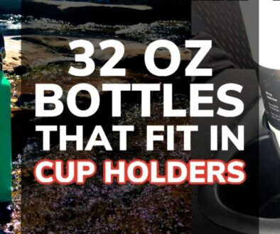 Best 32 oz Water Bottles That Fits in a Cup Holder