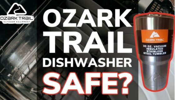 Are Ozark Trail Tumbler Cups Dishwasher Safe?