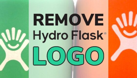 Remove Hydro Flask Logo