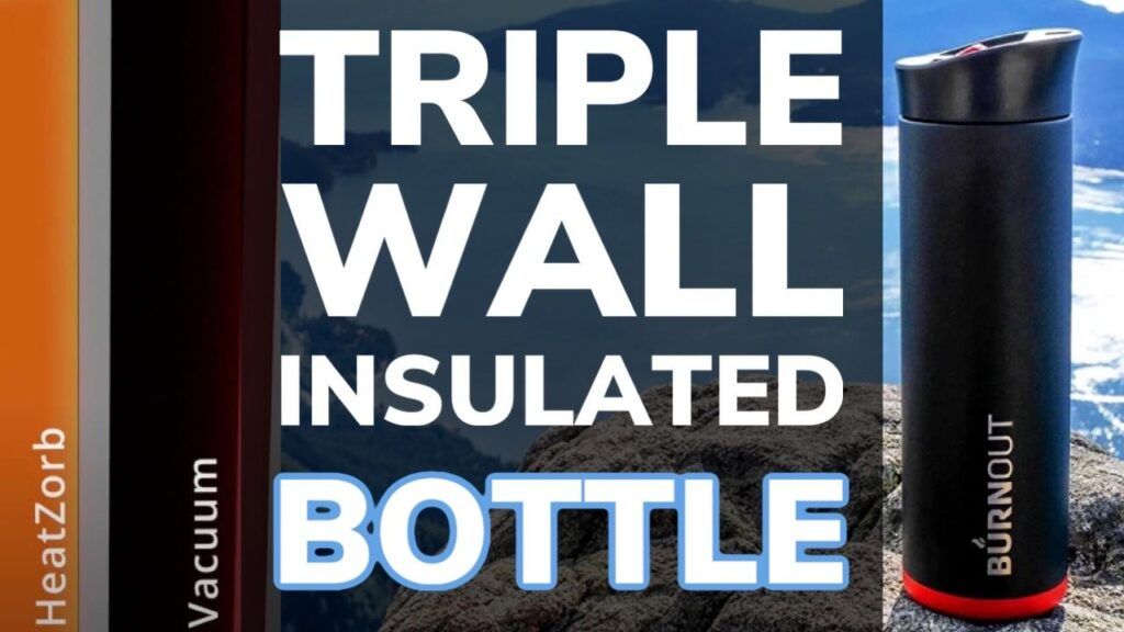 Triple Wall Insulated Water Bottle