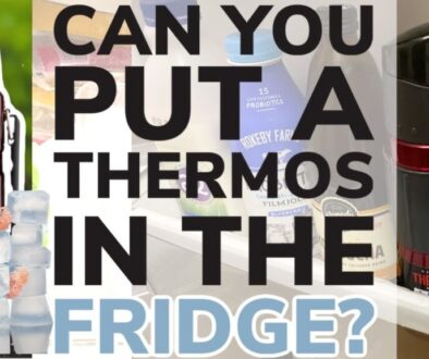Can You Put a Thermos Flask In The Refrigerator?