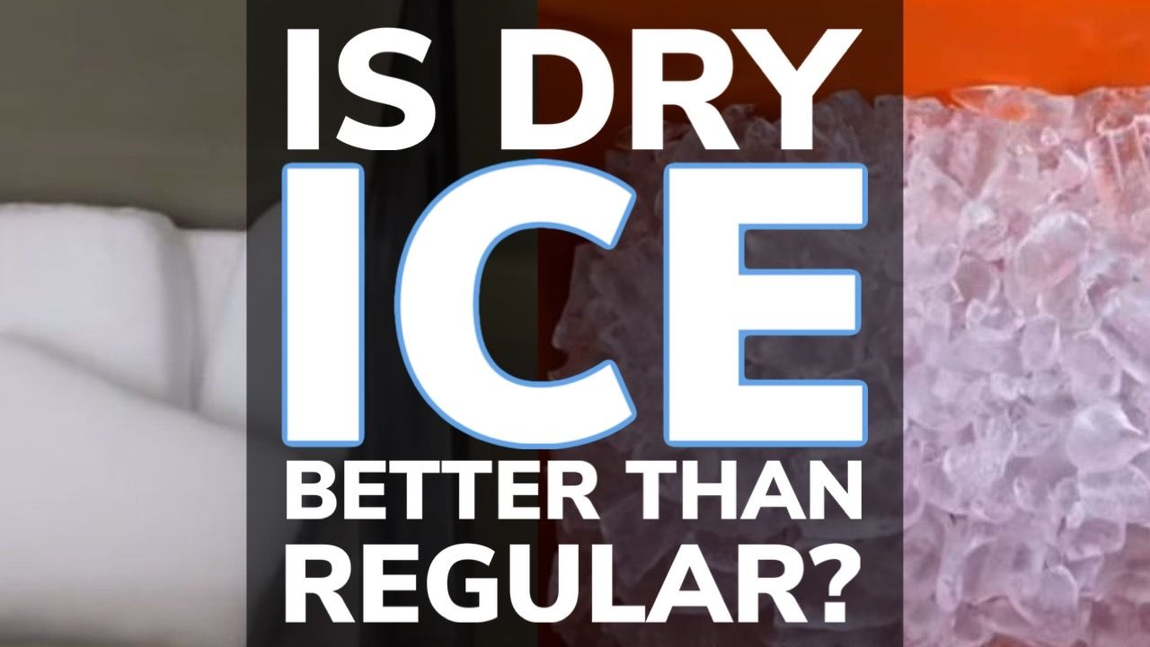 Is Dry Ice Better Than Regular Ice In a Cooler?