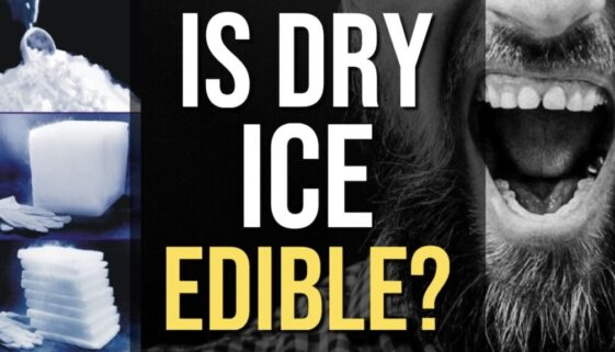 Is Dry Ice Edible?