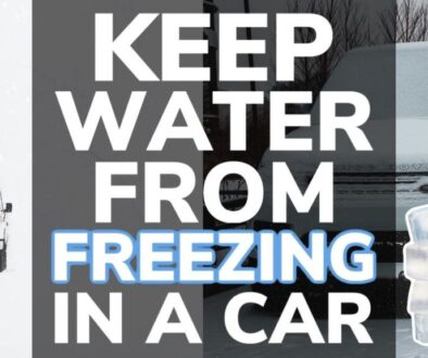 How To Keep Water From Freezing in Your Car