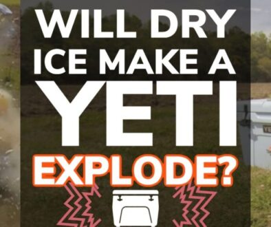 Will Dry Ice Make a Yeti Explode?