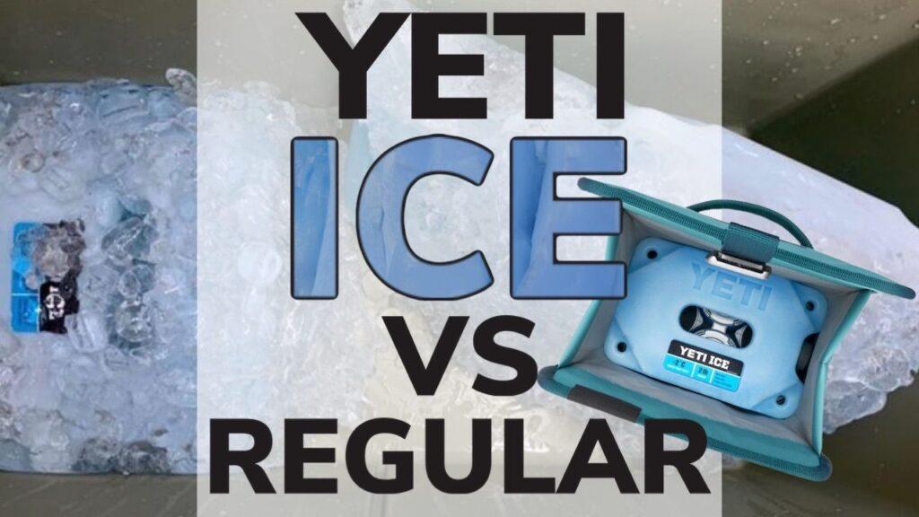 Yeti Ice vs Regular Ice