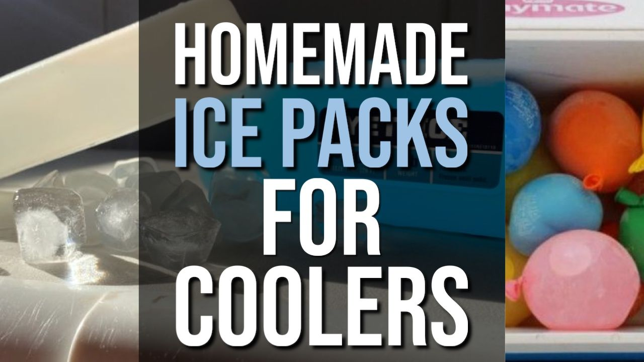 Homemade Ice Packs For Coolers