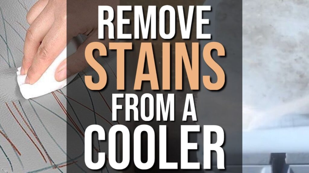 Remove Stains From a Cooler