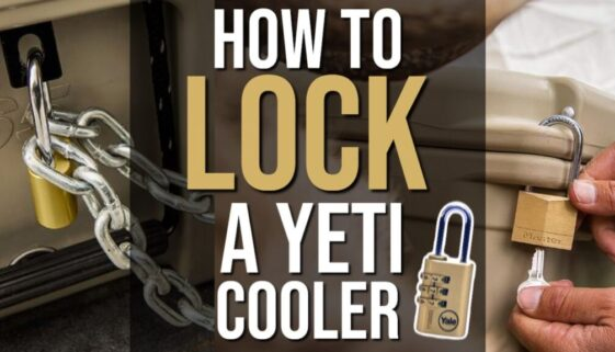 How To Lock a Yeti Cooler