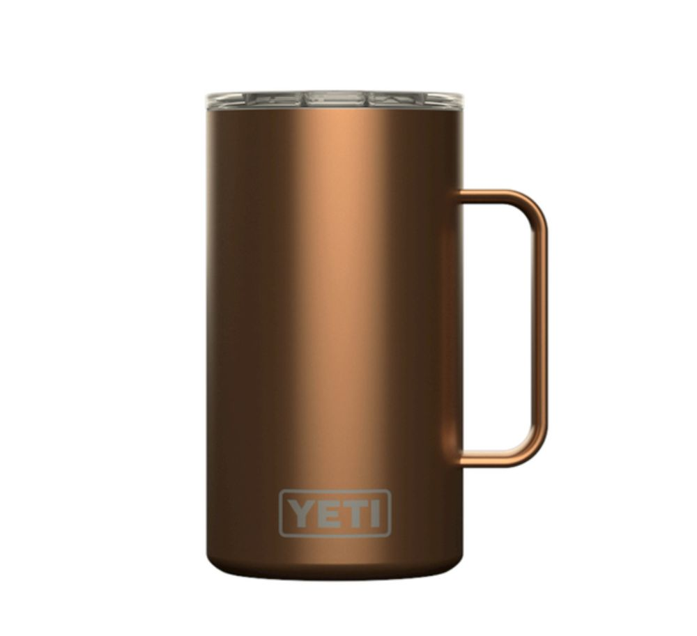 yeti-20-oz-mug-with-handle-tumbler-cup-copper - The Cooler Box
